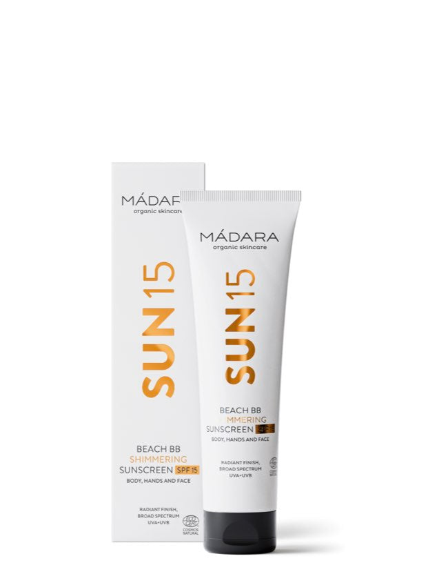 Mádara - Beach BB Shimmering Sunscreen SPF 15