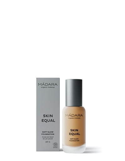 Mádara - Skin Equal Foundation Golden Sand - Naturkosmetik