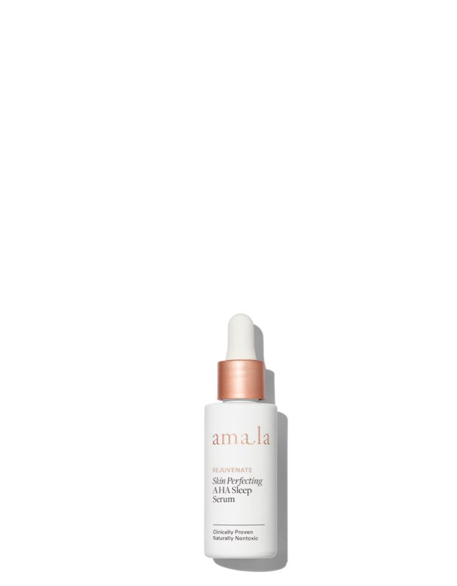 Amala Rejuvenate - Skin Perfecting AHA Sleep Serum - Naturkosmetik