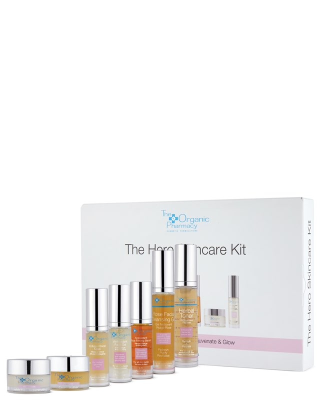 The Organic Pharmacy - The Hero Skincare Kit - Naturkosmetik