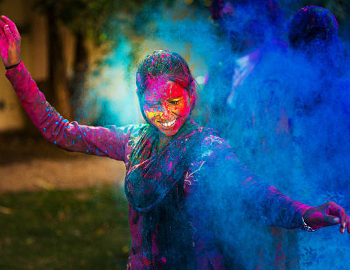 Holi - the festival of colours