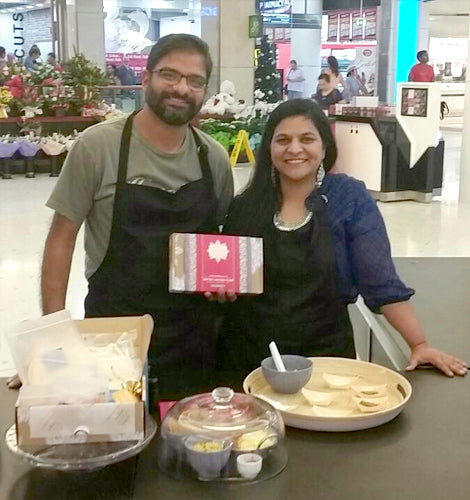 Ambika and Vikram at Top Ryde Pop up