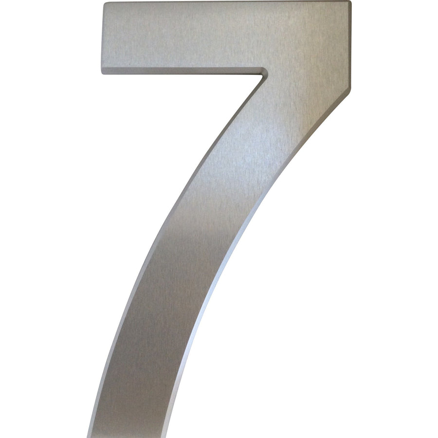 Medium House Number 7 (20cm) - Stylishly Numbered