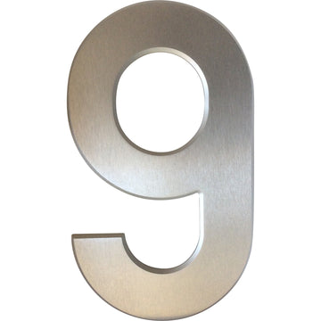 Medium House Number 9 (20cm) - stylishly-numbered