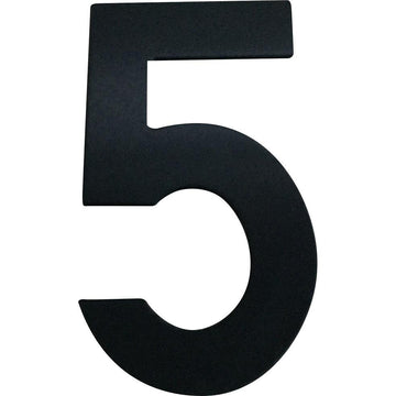 Medium House Number 5 (20cm) - stylishly-numbered