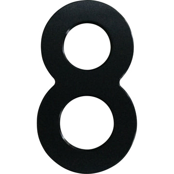 Medium House Number 8 (20cm) - Stylishly Numbered