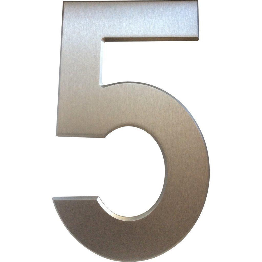 Medium House Number 5 (20cm) - Stylishly Numbered