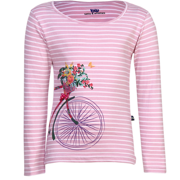 BELLS & WHISTLES GARDEN DELIGHT COLLECTION GIRLS TEE AW14-GD-05