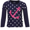 BELLS & WHISTLES SAIL WITH ME COLLECTION GIRLS TEE AW14-SAIL-09