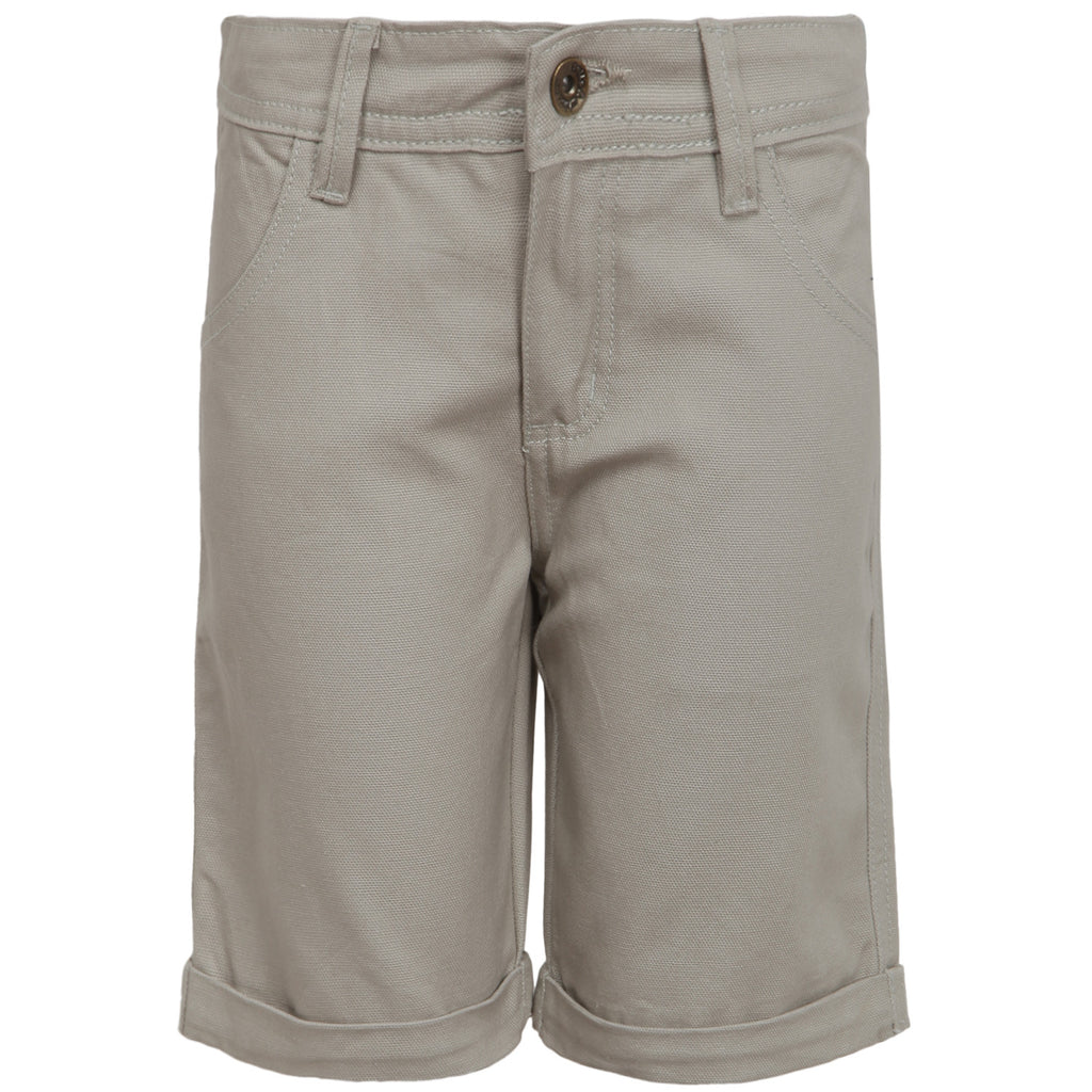Earthy Brown Solid Jamaican Short