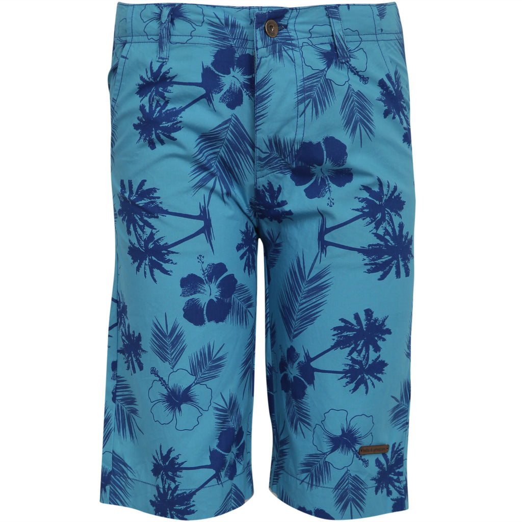 Printed Twill Shorts for Boys