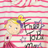 Bells and Whistles Free to be Me Tee for Girls