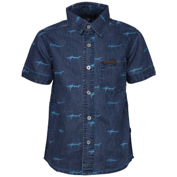 Bells and Whistles Printed Denim Shirt