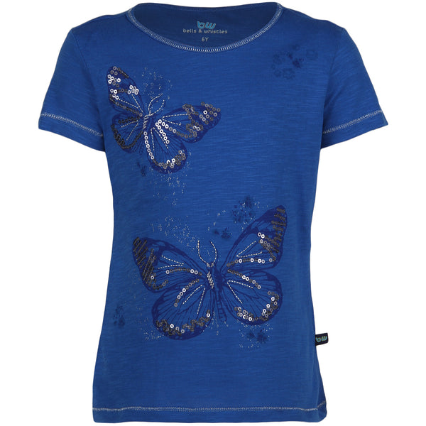 Bells and Whistles Butterfly Embellished Pretty Tee