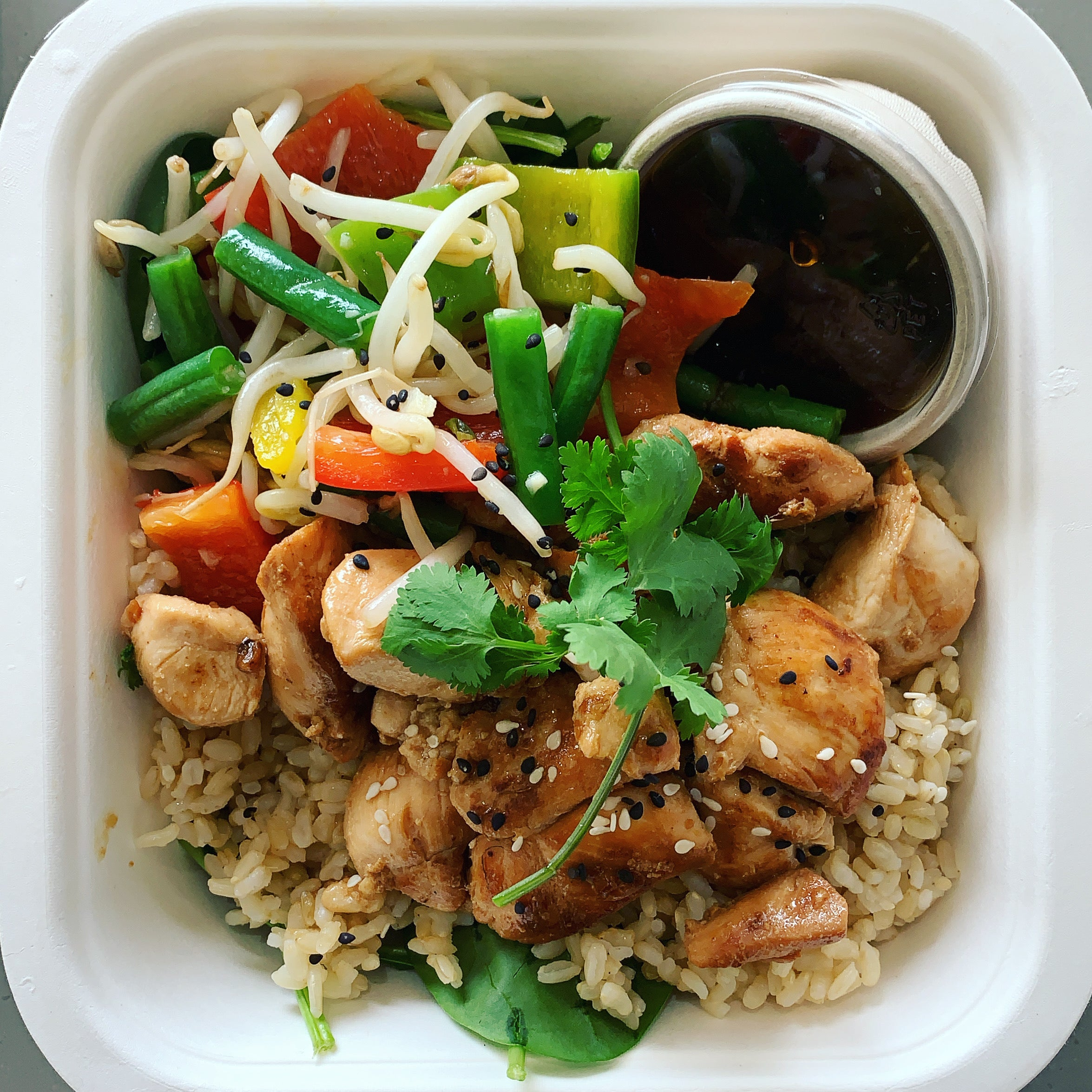 Ginger Soy Chicken Stir Fry
