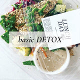 Basic Detox {Breakfast, Lunch + Dinner only.}