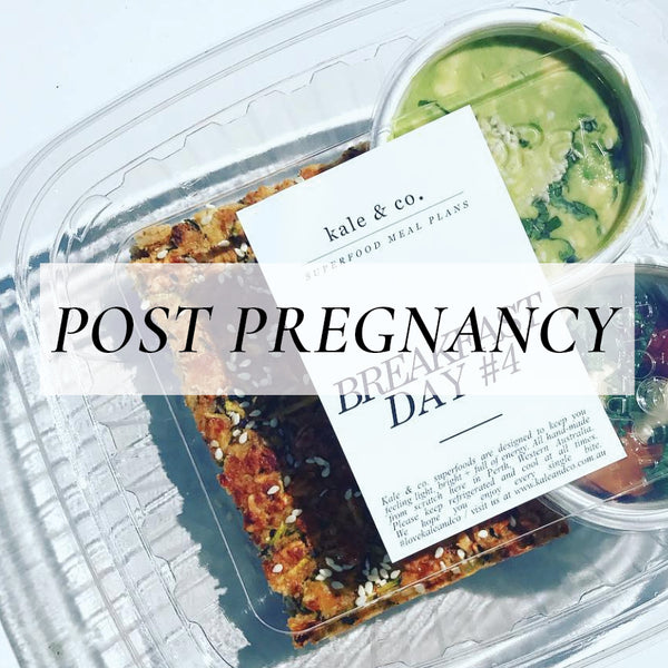 The Post-Pregnancy Program