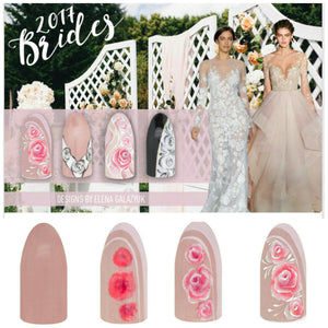 Bride 2017 - nail trends from Magnetic Nail Design