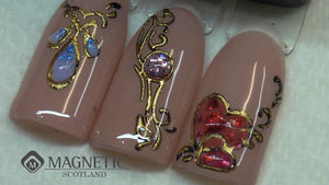 Foil Gel and Transfer Foil - Easy and Fun Nail Art