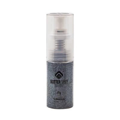 118079 Glitter Spray Steel 17g