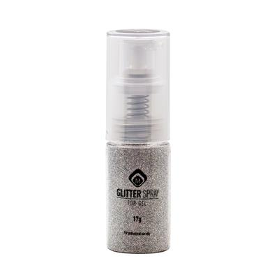 118083 Glitter Spray Silver Steel 17g