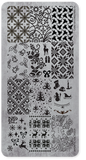 118612 Stamping Plate Christmas 1