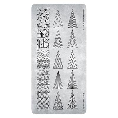 118624 Stamping Plate Pyramid Elements