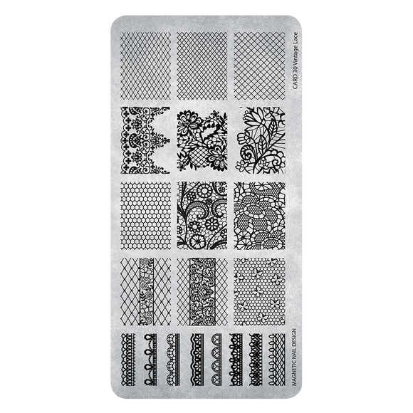 118633 Stamping Plate Vintage Lace