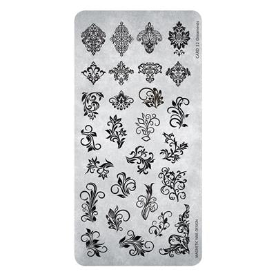 118635 Stamping Plate Ornaments