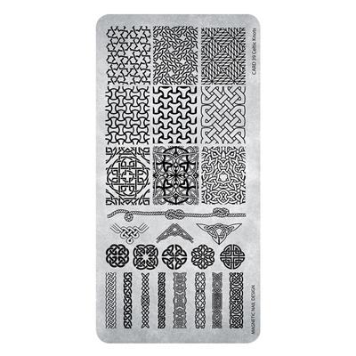 118642 Stamping Plate Celtic Knots