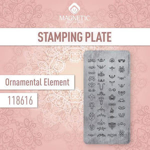 118616 Stamp Plate  Ornamental Element