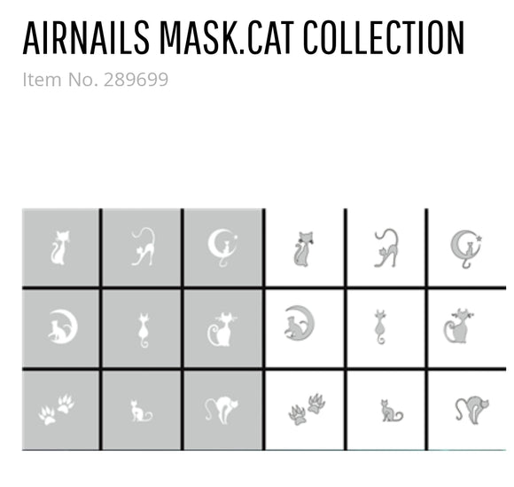 289699 AirNails Masking Cats Collection
