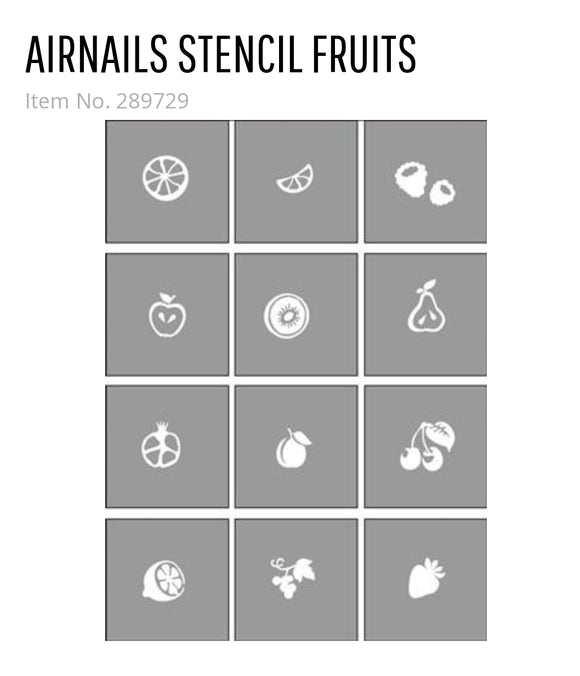 289729 AirNails Masking Fruits Collection