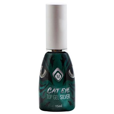 Cat Eye Top Gel Silver 15ml
