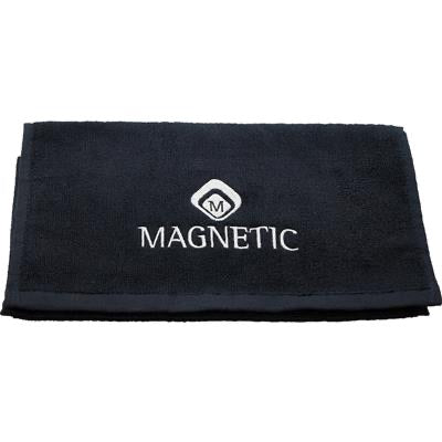 175018 Magnetic Towel Black 30x50cm