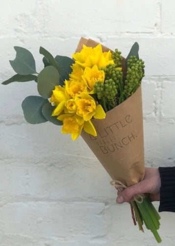 Pre Order A Little Bunch for Daffodil Day Friday 28th August 2020