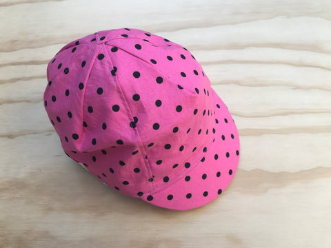 Black Dots on Pretty Pink