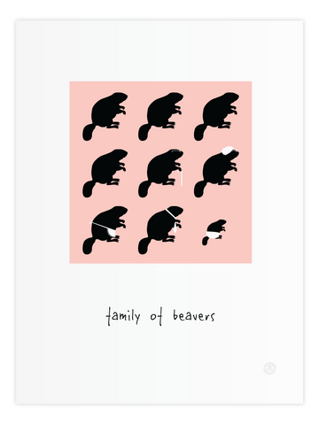 Family of Beavers