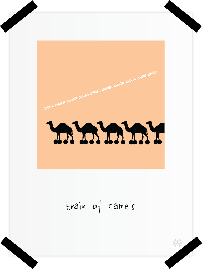 Train of Camels