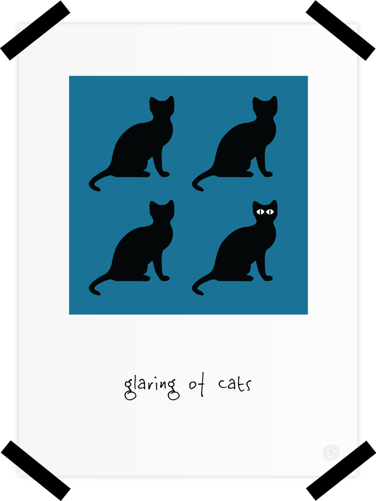 Glaring of Cats