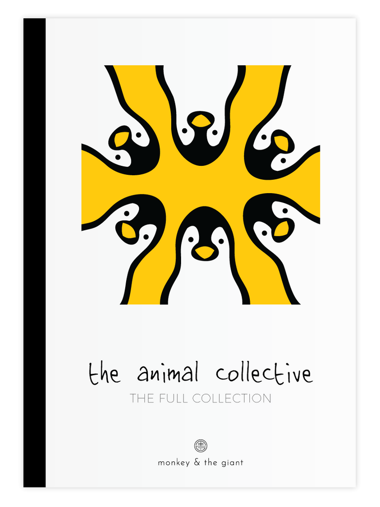 The Animal Collective Postcard Book