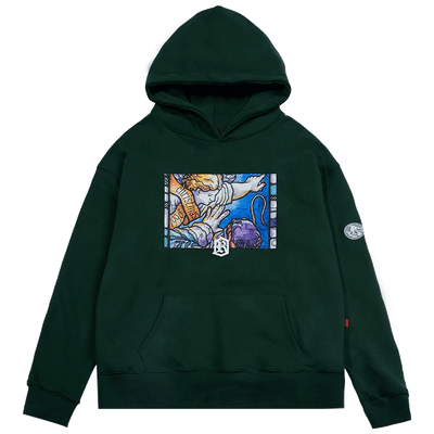GRKC - Colourful Angel Pointing Hoodie