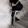Irregular Reflective Stripes Sweatpants (UNISEX*)