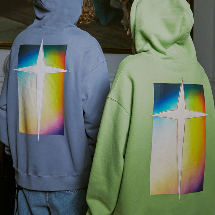 GRKC - Classical Rainbow Colour Hoodie