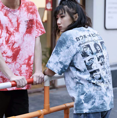 Star Cowboy Couple Loose Tee (UNISEX*)