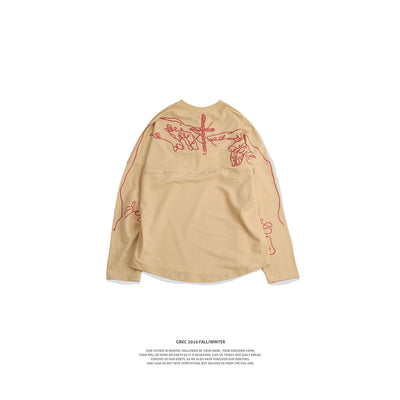 GRKC - Classical Cross Pattern Long Sleeve