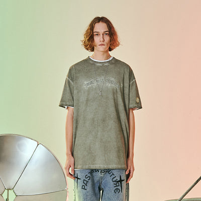 GRKC - Stylistic Light Green Cross Star Tee