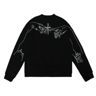 GRKC - Cross Figure Genesis Crewneck