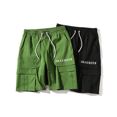 iSaluteU 18SS Pockets Short Pants MEN