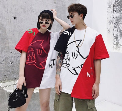 "SuaMoment 18SS Basic ""Shark"" Tee (UNISEX*)"